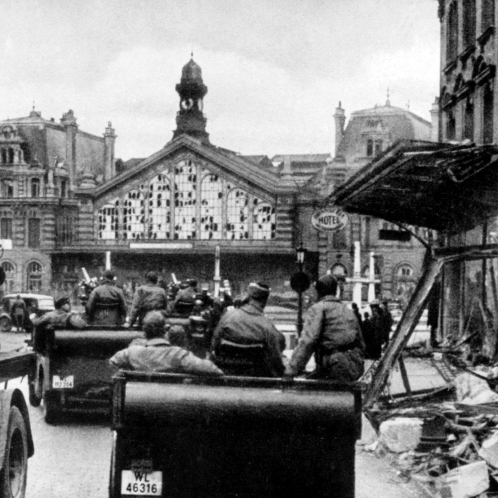 soldats allemands Lille